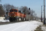 E945-07 splits the signals at the east end of Hudsonville