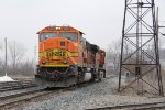 After shoving N956 east out of town, D802 returns westward, bound for West Olive