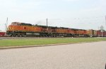 BNSF power for Sb freight