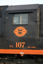 WE 107 at Rook Yard