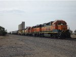 BNSF Local with all Four Axle power