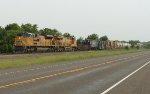 EB freight following coal train