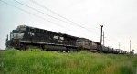NS 12G southbound train work duty around on NS Jello yard
