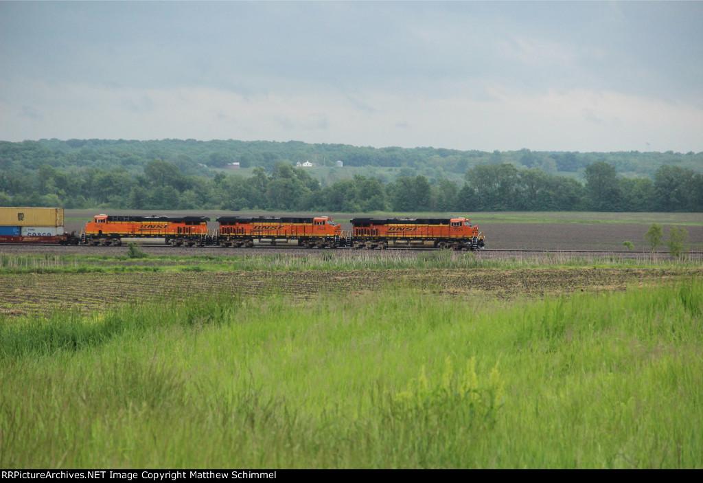 BNSF Through The Field