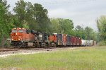 BNSF WB freight just crossed UP rabbit line