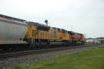 BNSF 7050, and UP 8716