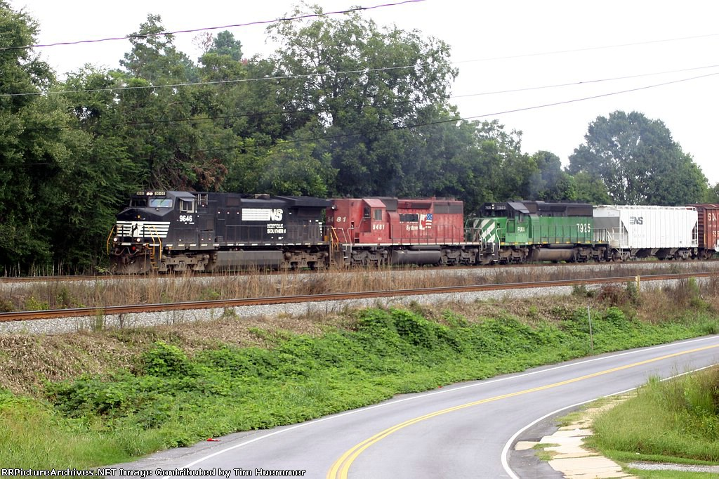 NS 119 passes through Spartanburg's widemouth
