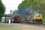 NS 173 sporting CSX Power