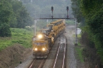 NS Train 980 passes through Lyman interlocking