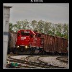CP 4523 in WSOR Janesville yard