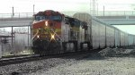BNSF 5646 and UP 7428