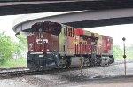 CP ES44AC #8947 off of K408-27