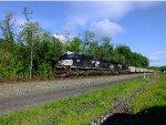 NS 1016 leading a coal drag