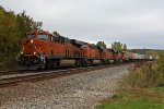 BNSF 6803 Rips on a Z train.!!