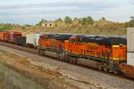 BNSF 6666 The devils ride.