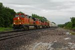 BNSF 5478 Leads a WB Jb Hunt stack train!!