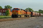 BNSF 4757 Leads the last EB.