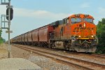 BNSF 6872 In your Face!