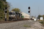 205 rolls over the Huntington District diamond at CP358