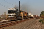 19A rolls west with power from NS, UP & BNSF