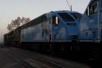 Brand new BL36PH number 822 for Tri-Rail