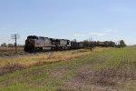 Bound for Toledo, CSX 362 & 5103 lead empty ore train K178 north