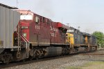 CP 8739 with CSX 47 & 860