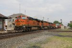 Just out of North Baltimore, a quartet of BNSF GE's head west with Q171