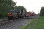 Q146 comes east into Deshler with containers for North Baltimore and Columbus