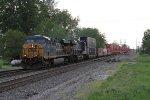 CSX 5340 & 978 bring Q146 east onto the Willard Sub