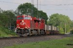 CP 9367 finds a spot of sun as it leads 143 west