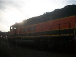 BNSF 2304 in late evening.