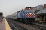 192 rolls west with an express for Downers Grove