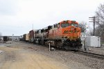 Powering the Savanna-Eola today, BNSF 5944 & 9632 start their work at Oregon