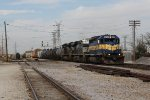 With the train all back together, 472 rolls east across the EJ&E