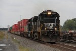 NS 8764 & 2518 roll east through Pine with 26N