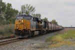 CSX 3066 & 7521 lead Q388 east bound for Willard