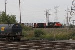 L515 nears Kirk Yard with the GTW 5930 for power and the IBCX 7225 in tow