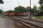 Heading east on the Porter Branch, 10R rattles across the Garrett Sub