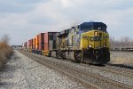 CSX 619 & 5259 start their way east out of Chicago with Q158