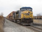 Just off the old B&OCT, CSX 110 & 679 lead Q112 east