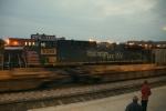 UP 6243 at Dusk