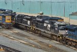 NS CSX and PC