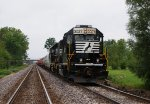 NS 3027 waits to move eastward on the NKP at Doyle Road