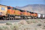 Midtrain DPUs on westbound grain train