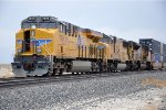Intermodal sits in siding