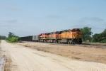 BNSF 5155, 1066, KCS 4782