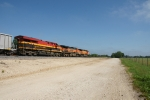 KCS 4782, BNSF 1066 & 5155