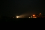 BNSF 7066 - Downtown Flynn at 1 a.m.