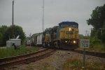 train heading toward hamlet